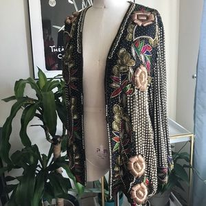 Jackets & Blazers - Vintage Embellished Jacket